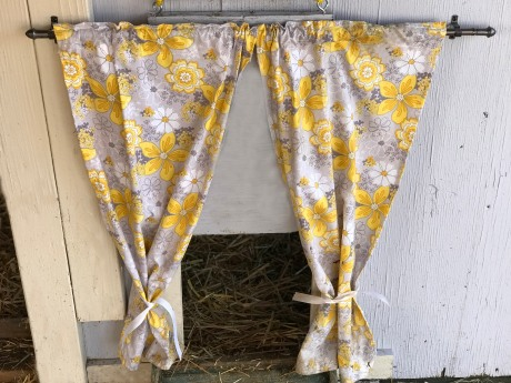 Draft Curtains. Just super cute!